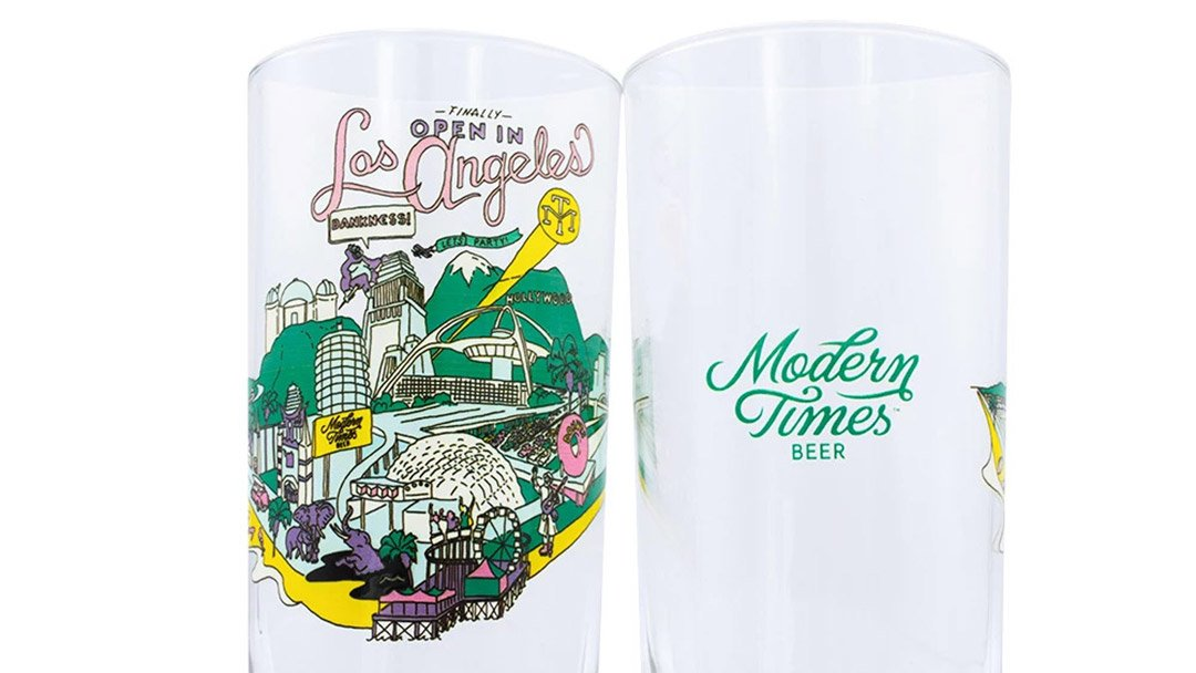modern times beer tap takeover